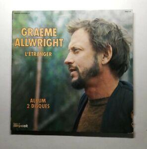 Ref1751 Vinyle 33 Tours / Graeme Allwright L'étranger 2 disques