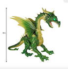 Halloween 69 in. Animated Giant Green Dragon without Fog Machine (NIB)