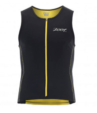 Zoot - Men's Performance Tri Tank - Black/Pure Yellow - Large