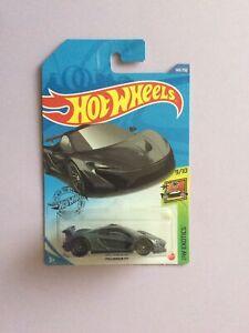 Hot Wheels 2020 McLaren P1 HW Exotics #9/10 Dark Grey #149/250 NEW 1:64