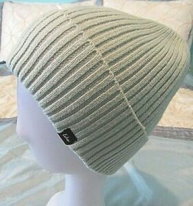 ECHO WOMEN'S MINT CABLE KNIT BEANIE ACTIVE STRETCH ONE SIZE NEW WITH TAGS
