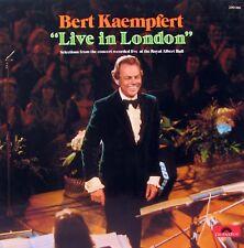 BERT KAEMPFERT Live In London LP    SirH70