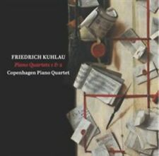 Friedrich Kuhlau: Piano Quartets 1 & 2 Super Audio Hybrid CD (CD, Mar-2015,...