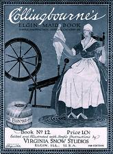 Collingbourne's #12 c.1912 - Pretty Patterns for Vintage Crochet Edgings & Laces