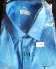 Polyester Long Big & Tall Button Cuff Formal Shirts for Men