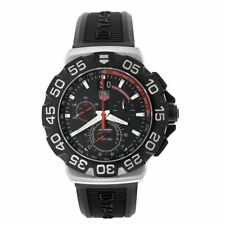 Tag Heuer Men's CAH1014.BT0718 Formula 1 Grande Chronograph Black Rubber Watch