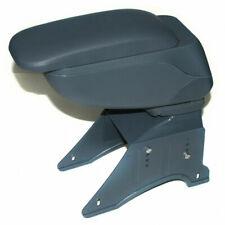 Universal Car Armrest Arm Rest Centre Console Leather Box Cup Holder Grey