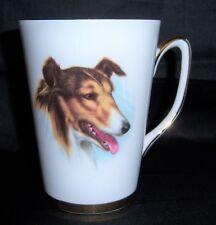 Vinta 00004000 ge English Fine Bone China Windsor Mug Collie Dog Gold Trim