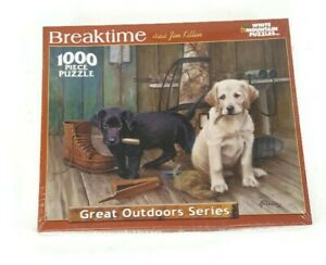 NEW WHITE MOUNTAIN PUZZLES 1000 PC JIGSAW PUZZLE BREAKTIME LABS BY JIM KILLEN