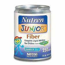 Nutren Junior Fiber Complete With Prebio1 Vanilla Flavor 250 Ml 1 Can