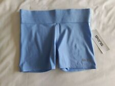 Skins - Ladies DNAmic Primary Gym / Training Shorts - BNWT - Size S - Sky Blue
