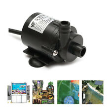 Mini Water Pump Brushless Water Pump Submersible Fountain Pond Motor 12V 280L/H