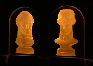 Disneyland Disney World Haunted Mansion Starring Following Bust Prop Displays