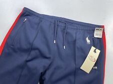Nwt 2006 Us Open Rlx Ralph Lauren Tennis Pants Athletic Blue Red Pony Large