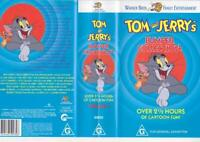 TOM AND  JERRY'S BUMPER COLLECTION VOLUME  1 MINT SEALED  VHS PAL A RARE FIND