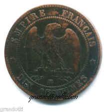 NAPOLEONE III 10 CENTESIMI 1854 STRASBURGO MONETA FRANCIA RAME