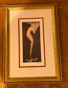 """Louis Icart """"Illusions"""" Framed Giclee Print, Numbered in Pencil"""