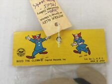 Bozo Toy Pocket Watch Unopened from the 60's!