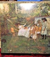 """""""The Open Air Breakfast"""" WILLIAM MERRITT CHASE(American) MUSEUMPuzzle 500Pc NEW"""