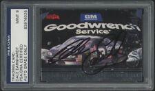 Dale Earnhardt Sr. AUTOGRAPHED 1997 Score Board IQ $10 Phone Card - PSA MINT 9