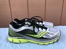 Saucony S20238-5 Kinvara 5 Size US 12.5 Running Shoe Silver Green Black A4