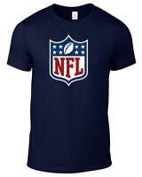 NFL LOGO T-SHIRT FOOTBALL JERSEY PLUS SIZES S-5XL TEE