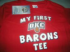OKLAHOMA CITY BARONS KIDS HOCKEY T-shirt SIZE 4 NWT
