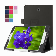 """For Samsung Galaxy Tab S2 8.0"""" / S2 9.7"""" Tablet Thin Leather SMART Case Cover"""
