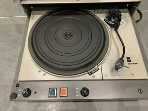 EMT 938 Turntable with Rare Factory Stand SME Tone Arm and Ortfon