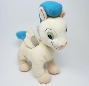 "12"" VINTAGE DISNEY HERCULES PEGASUS BABY WHITE HORSE STUFFED ANIMAL PLUSH TOY"