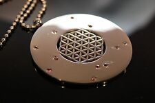 Pymat Radionics Pattern of Pyramid Sacred Geometric Symbol Pendant