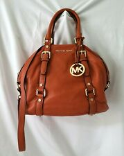Michael Kors Orange  Belted Bedford Tote / Satchel