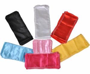 Silk Kungfu Taichi Martial Arts Belts Sash For Martial Arts Uniform Suit Clothes