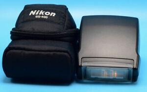 Nikon Speedlight SB-400 Shoe Mount Flash for Nikon Exc++++++ in case