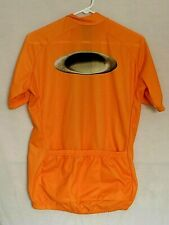 Oakley Software Mad Science Lab Mens Cycling Jersey Large Orange Half Zip
