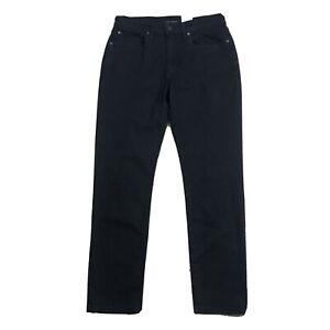 Lucky Brand Mens Size 32x30 Morrison 121 Slim Straight Coolmax Stretch Jean BLK