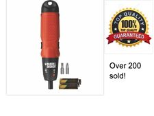 BLACK AND DECKER CORDLESS SCREWDRIVER POWER TOOL DRILL DRIVER EXPRESS POST GIFT