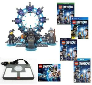 LEGO DIMENSIONS Starter Pack Portal manual Xbox One / 360 , PS3 , PS4 ,Wii U