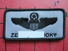 ORIGINAL SQUADRON PATCH AIR FORCE USAF 43 FS 325 WING NAME TAG