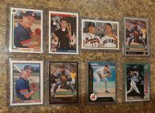 (8) Jim Thome 1991 1992 Bowman Upper Leaf Rookie card lot RC Indians HOF 612 HR