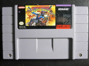 SUNSET RIDERS USA VERSION SNES NTSC Video Game Card