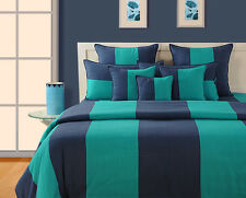 100% Cotton 8 Pcs Bedding Set Bed in a Bag Bed Sheet Comforter Pillow Cover