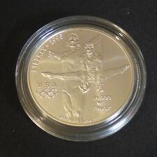 US 1$ Olympic Atlanta Gymnast silver 90% (26.7 g) + CoA