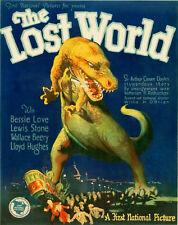 Vintage década de 1920 El mundo perdido Movie Poster A2 impresión