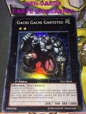 OCCASION Carte Yu Gi Oh GACHI GACHI GANTETSU YS11-FR042 1ère édition