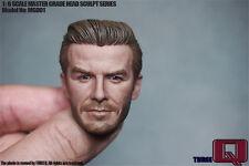HOT FIGURE TOYS THREEQ 1/6 David Beckham headplay Middle-aged version Custom