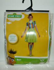 Sesame Street Bert Ladies Adult Costume Dress Leg Warmers Headband Small 4-6 New