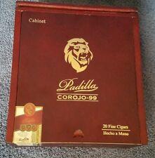 Padilla Corojo - 99 Hecho a Mano 20 Fine Cigars Wooden Box Lions Head 6x52 Toro