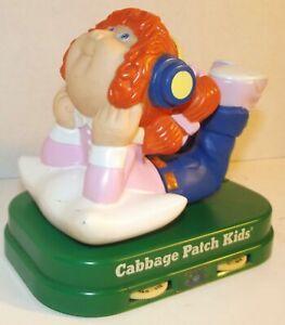 1985 Cabbage Patch Kids Transistor A.M. Radio Orange Head Girl Vintage Retro