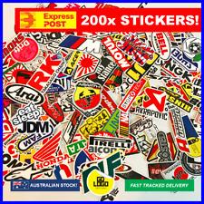 200pcs STICKER BOMB JDM Drift Logo Stickers MX Motorbike Racing Car Decals Japan